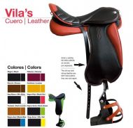 VILA'S leather endurance saddle by Zaldi